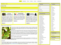 Joomla 3.2 template with 2 right column for vertical menu