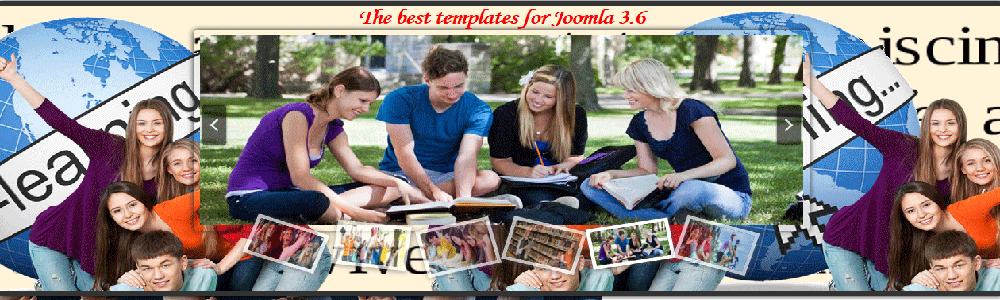 new joomla 3.x template with parallax slideshow