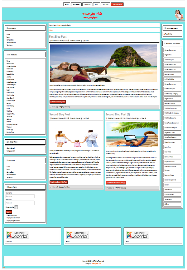 Free templates for joomla 38 33 25 best free joomla 33 25 templates maxwellsz