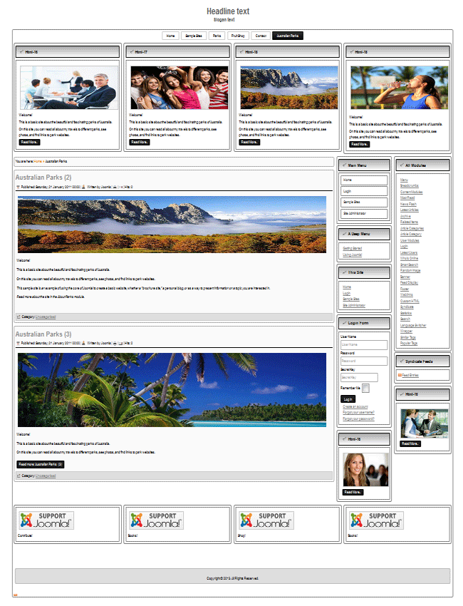 Best Joomla 3.2 templates