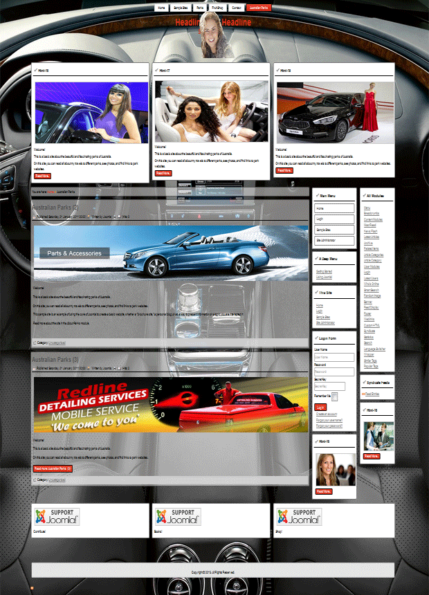 Joomla 3.2 templates for rent a cars, automobile, motor services ,auto new