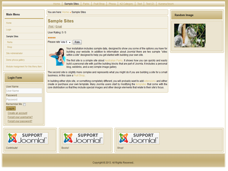 Joomla 3.4 and Joomla 3.3 template
