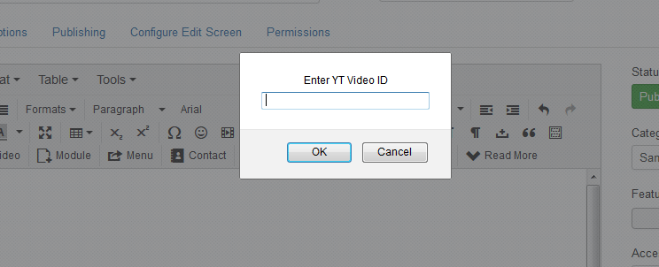 enter video id