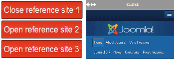 Free Joomla module - Slide Reference to Sites