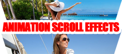 Free Joomla module for contents animation effects if scroll down the page