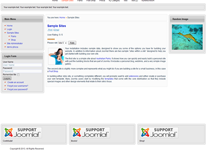 resposive template for joomla 3 suport html5 and css3