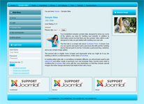 joomla template with left and right sidebars