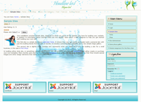 joomla 3.0 template with right sidebar