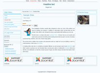 Joomla 3.0 template with 2 sidebars