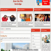 Joomla 3 template - animated effect of the articles and smooth scrolling