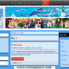 Joomla 3.x template - jquery parallax animated header background