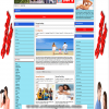 News portal / magazine Joomla 3.x template with high quality and functionality