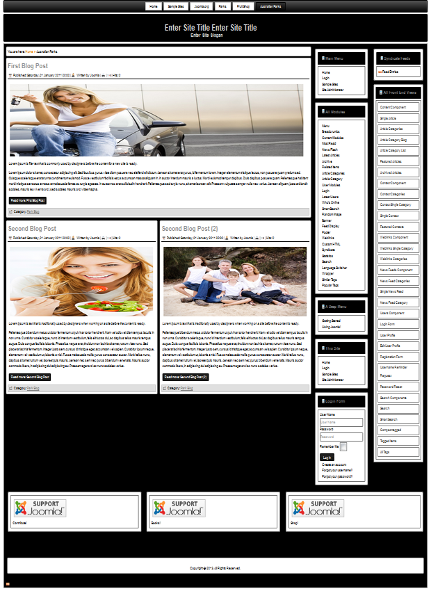 Joomla 3.5 templates for all needs