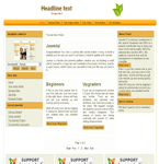 Drupal 7 theme for download
